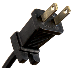 2 Conductor NEMA 1-15 Plug